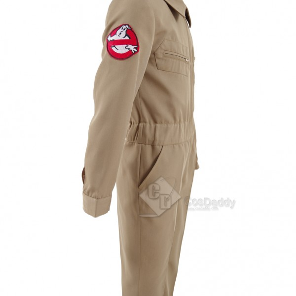 Stranger Things 2 Kids Color Burn Homemade Ghostbusters Jumpsuit Cosplay