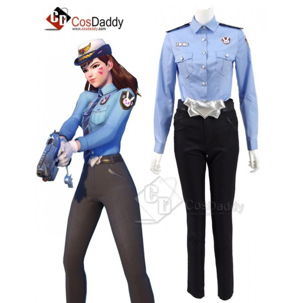 Overwatch DVA Uniform Suit Cosplay Costume