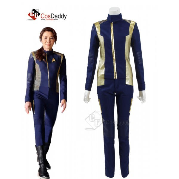Star Trek Discovery Commander Uniform Costume Capt...
