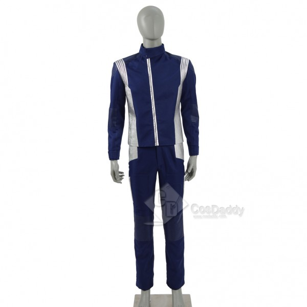 Star Trek Discovery  Science Silver Uniform Costum...