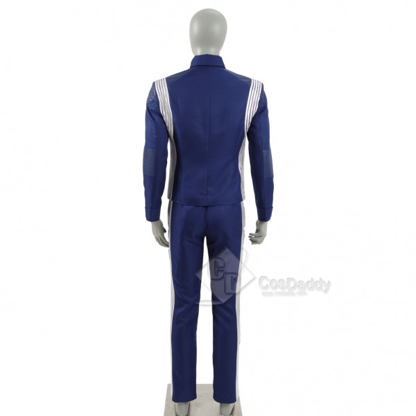 Star Trek Discovery  Science Silver Uniform Costume