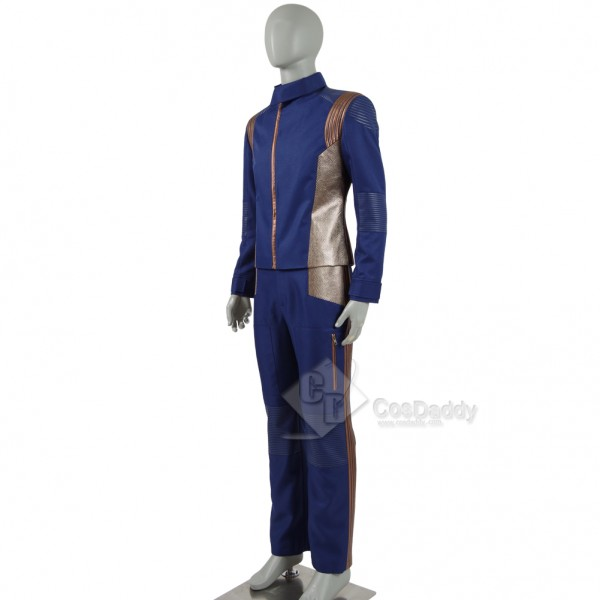 Star Trek Discovery Operations and Engineering Copper Uniform Costume