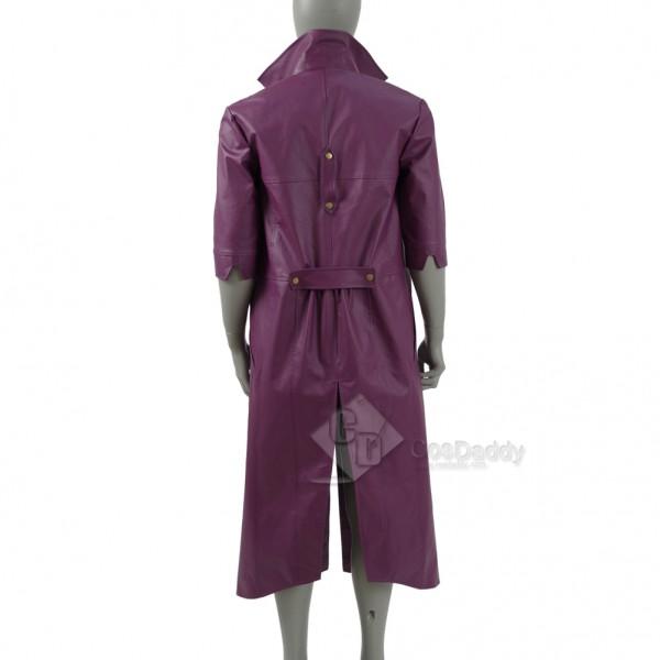 Injustice 2 the  Joker Purple Jacket Cosplay Costume