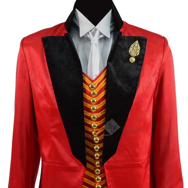 The Greatest Showman P.T.Barnum Cosplay Costume Ringmaster Costume