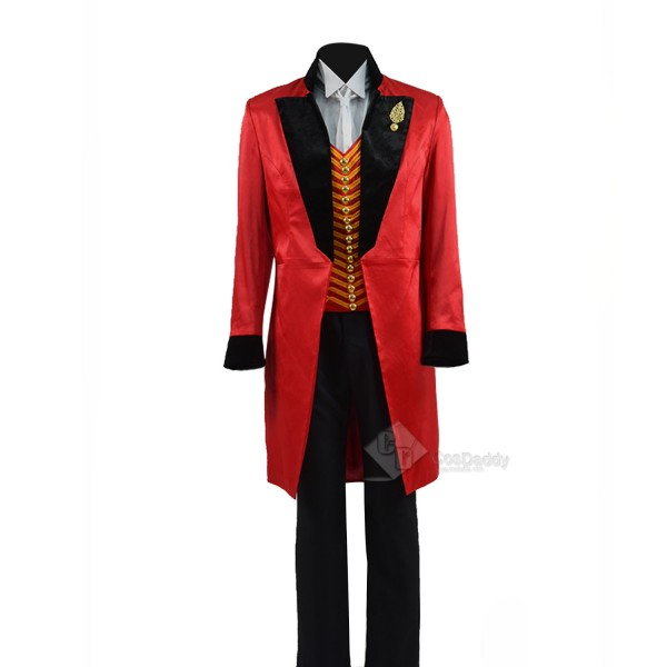 The Greatest Showman P.T.Barnum Cosplay Costume Ri...