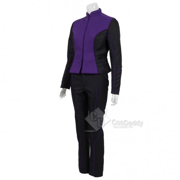 The Orville  Costume Women Purple Alliance of Free Planets Uniform