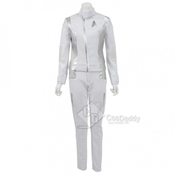 Star Trek Discovery Medicine  White Costume Costume for Women