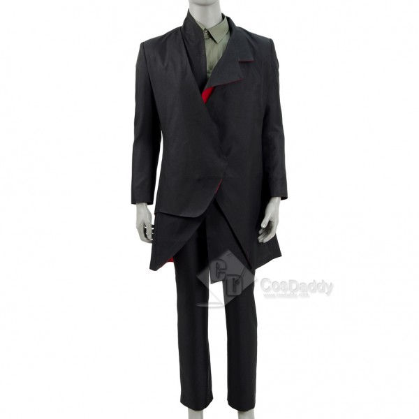 Doctor Who Episodes The Doctor Falls The Master's Black Coat Suit Costume1