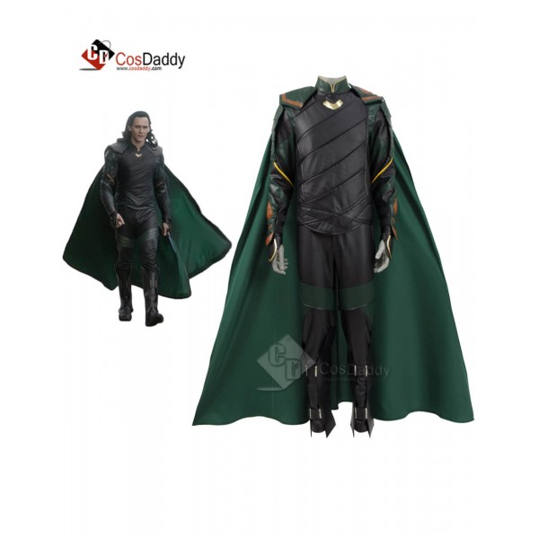 Thor: Ragnarok  Loki Cosplay Costume