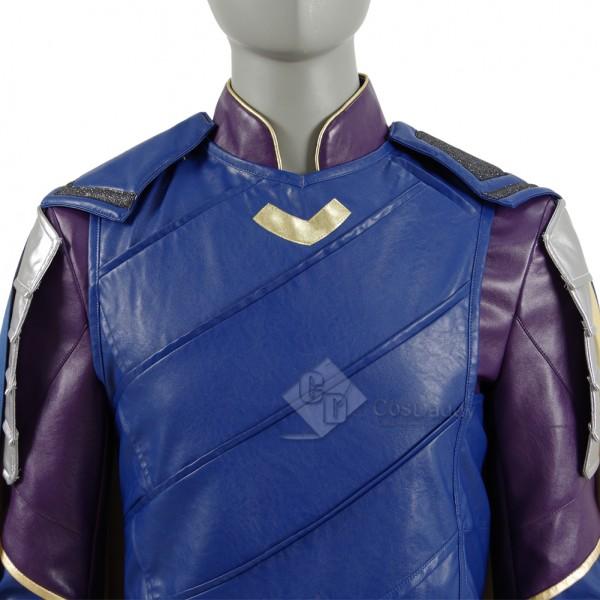 Thor 3 Ragnarok Loki Laufeyson Cosplay Costume FullSet