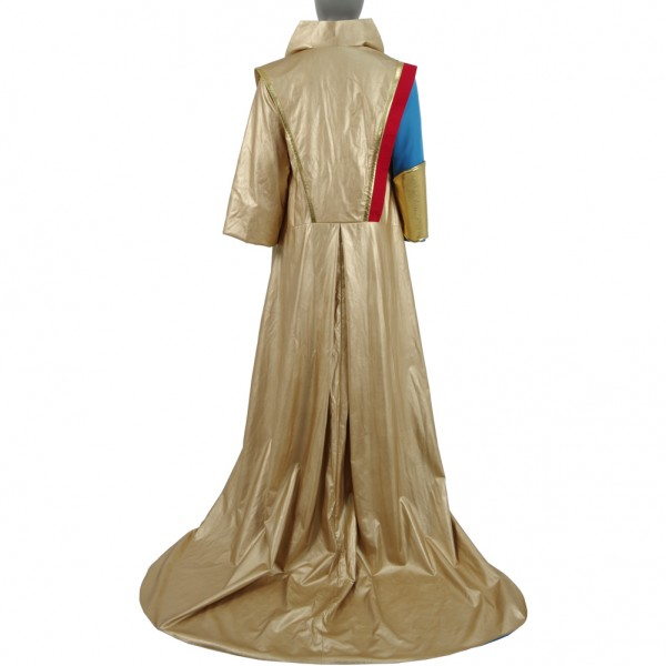 Thor: Ragnarök Grandmaster Cosplay Magic Long Coat Cloak Costume