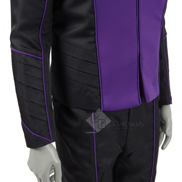 The Orville Costume Men Purple Alliance of Free Planets Uniform