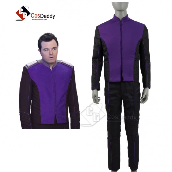 The Orville Costume Men Purple Alliance of Free Pl...