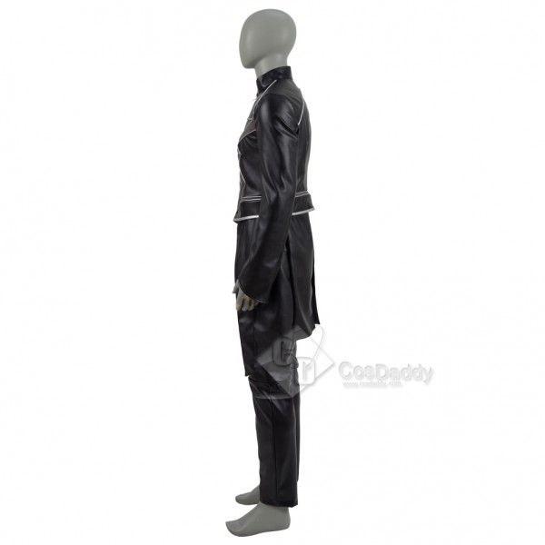 Inhumains Noir Boulon Super hero Blackagar Boltagon Cosplay Costume Halloween