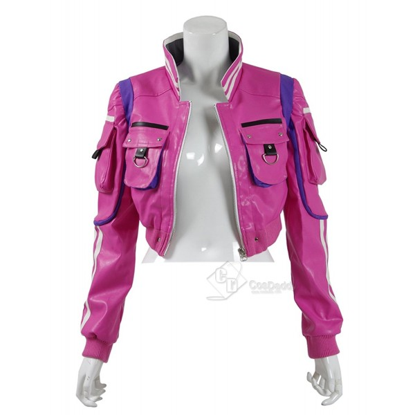 Final Fantasy XV Cindy Aurum Cosplay Jacket Pink H...