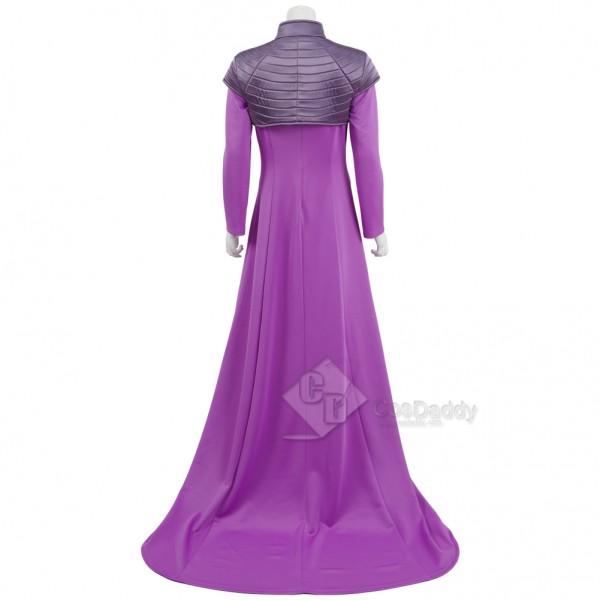 TV Inhumans Medusa Cosplay Costume Dress