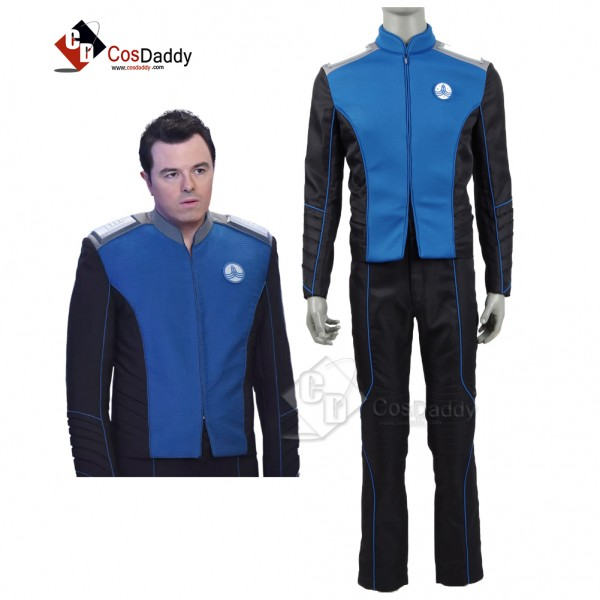The Orville Costume Men's Blue Command Department ...