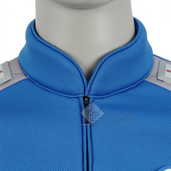 The Orville Costume Men's Blue Command Department Uniform