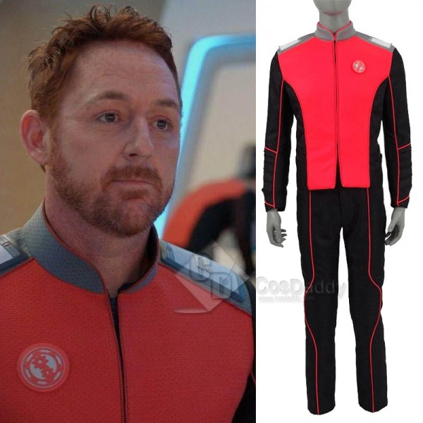The Orville Engineering Department Mens Orange Uni...
