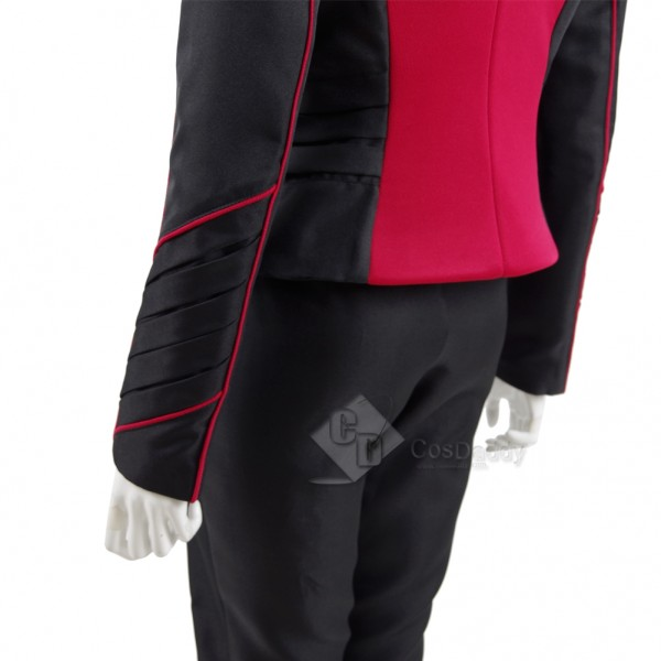 The Orville Women Red Security Department Uniform Cosplay Costume