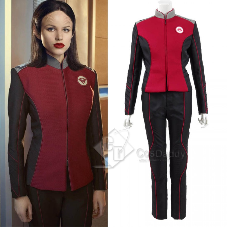 The Orville Costumes Uniform of Command Department Cosplay Costume Halloween