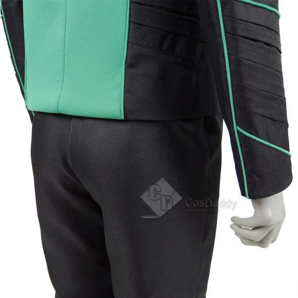 The Orville Costume Mens Green Medical Department Uniform