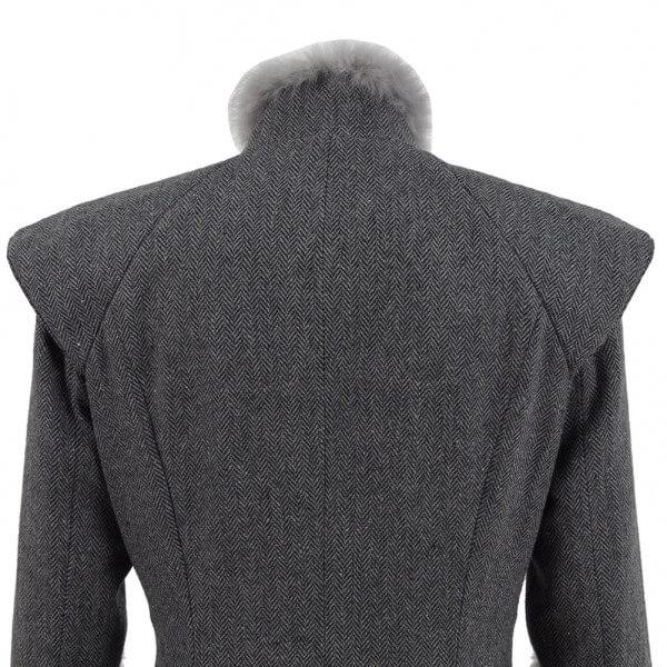 Game of Thrones Queen Daenerys Targaryen Cosplay Fleece Winter Coat Outwear Costume