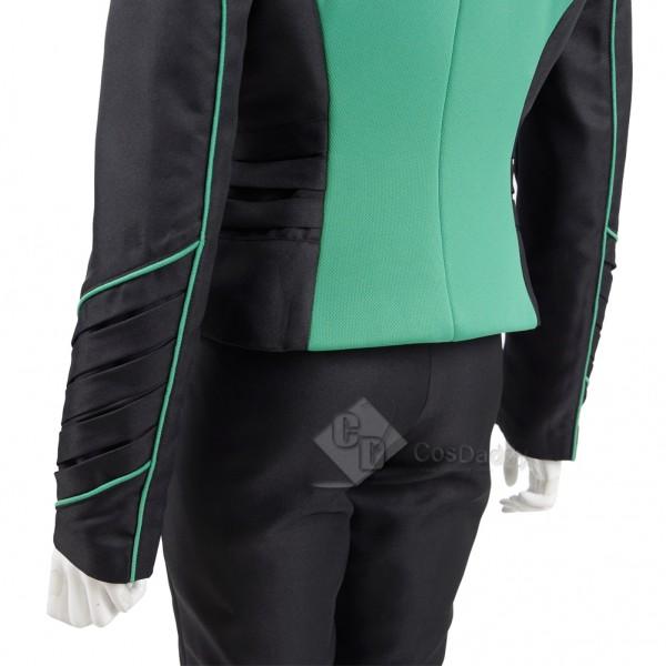 The Orville Costume Women's Green Medical Department  Uniform