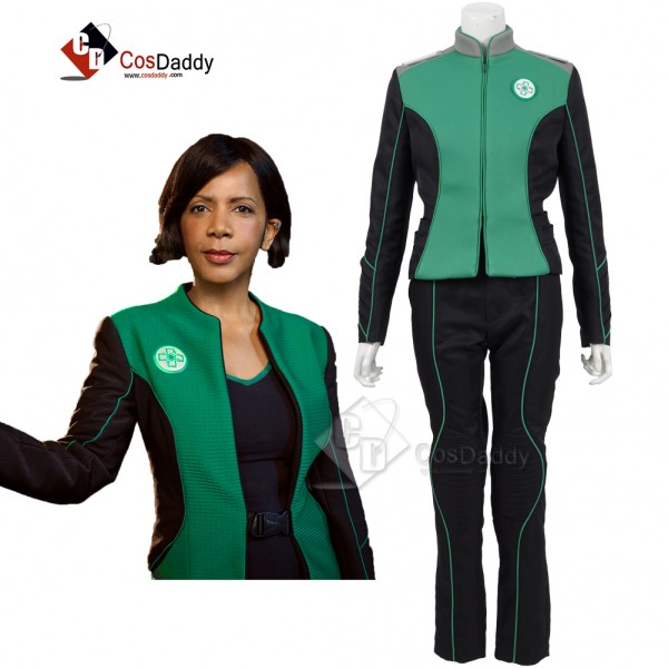 The Orville Costume Women's Green Medical Departme...