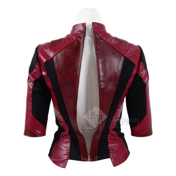 Guardians of the Galaxy 2 Gamora Zen PU Jacket Costume