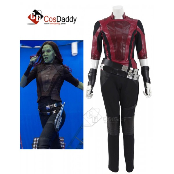 Guardians of the Galaxy 2 Gamora Zen PU Jacket Cos...