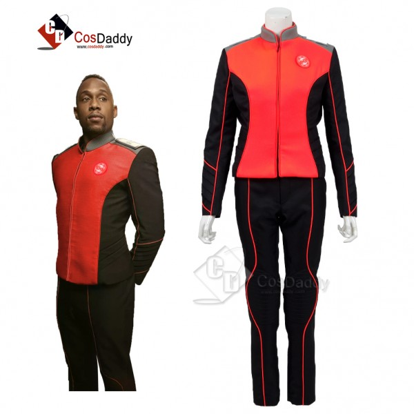 The Orville Costume Women Orange  Engineering Depa...