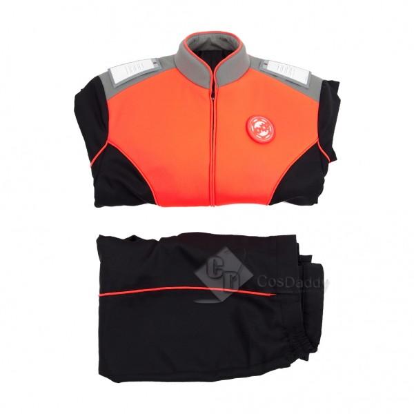 The Orville Costume Women Orange  Engineering Department Uniform
