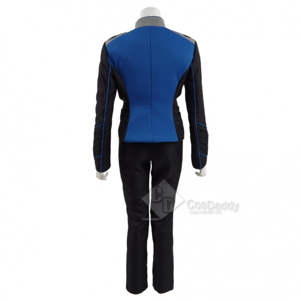 The Orville Costume Women's Blue Command Department Uniform