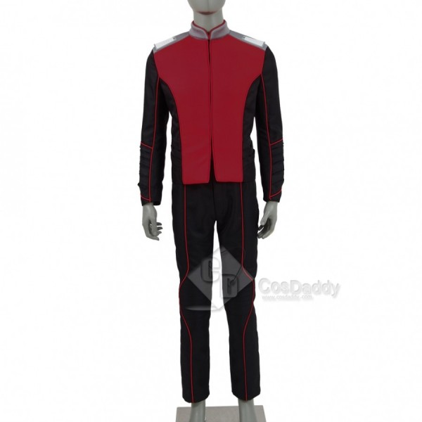 The Orville Costume Men Red Security Department Un...