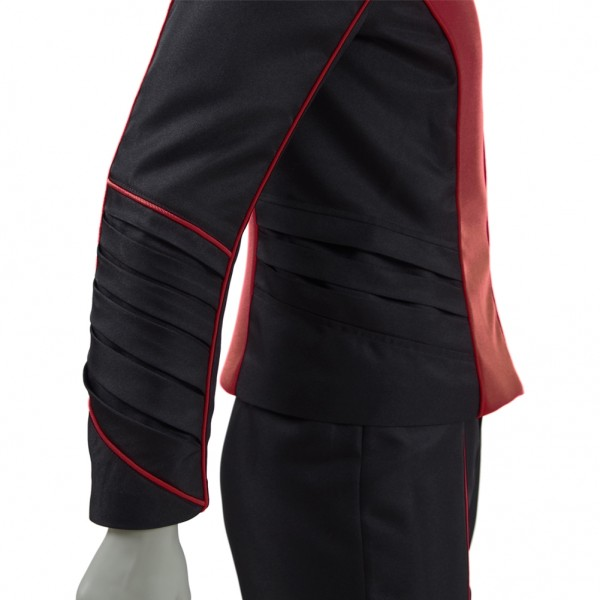 The Orville Costume Men Red Security Department Uniform