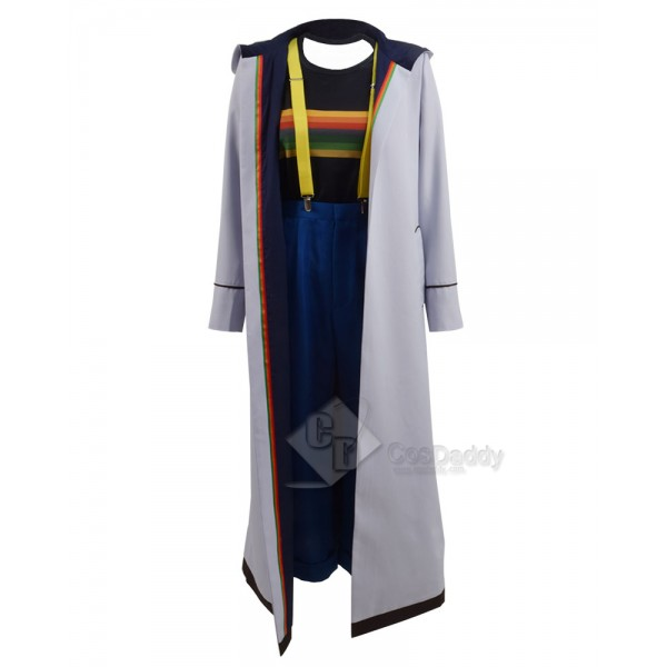 13th Doctor Jodie Whittaker Cosplay Costume (3 Str...