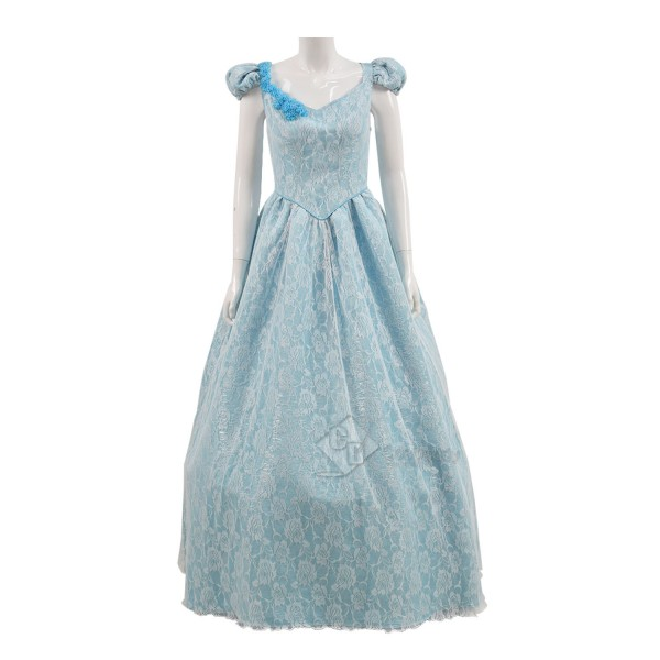 Cosdaddy Once Upon a Time Cinderella Cosplay Blue ...