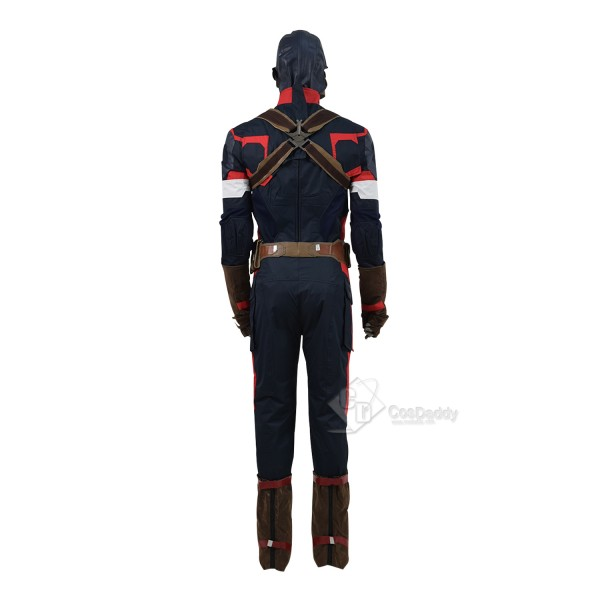 Avengers: Age of Ultron Captain America Steve Rogers Uniform Costume