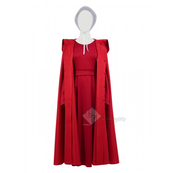 The Handmaid's Tale Offred Cosplay Red Long Dress ...