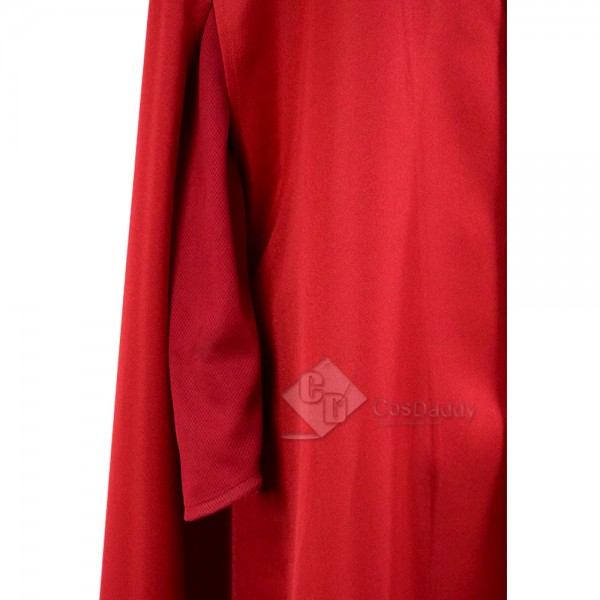 The Handmaid's Tale Offred Cosplay Red Long Dress Costume