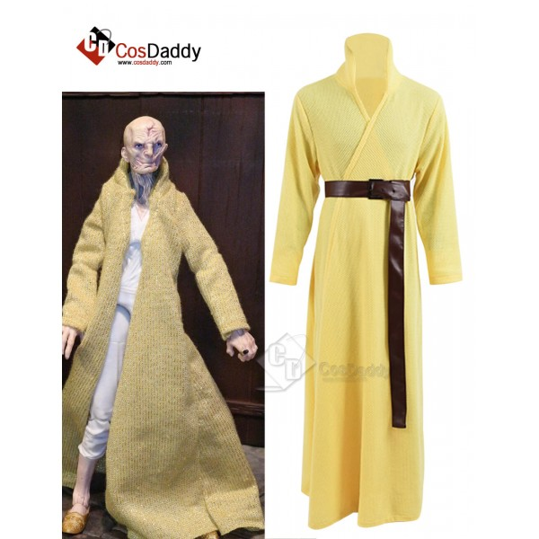 Cosdaddy Star Wars First order Snoke Cosplay Costume Bathrobe