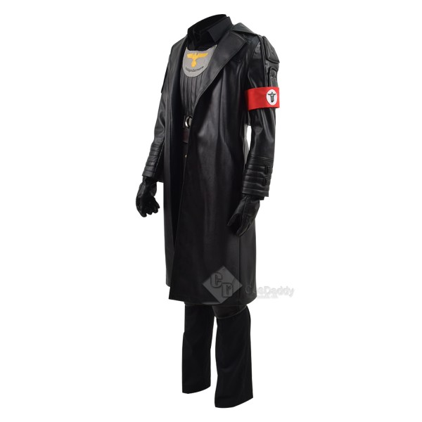 WOLFENSTEIN 2:THE NEW COLOSSUS Dutch Germany Soldier Military Uniform Cosplay Costume