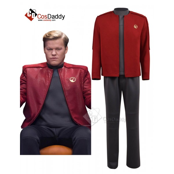 Black Mirror 4 Captain Robert Daly Cosplay Costume