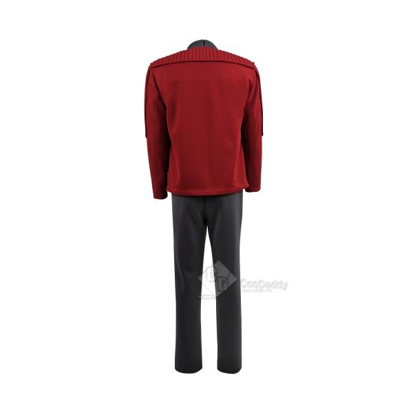 Black Mirror 4 Captain Robert Daly Cosplay Costume