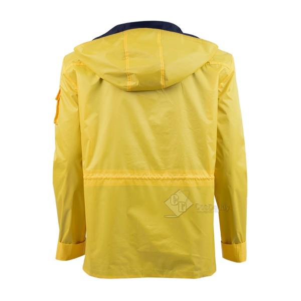 Dark Jonas Kahnwald Jacket Yellow Raincoat Cosplay Costume