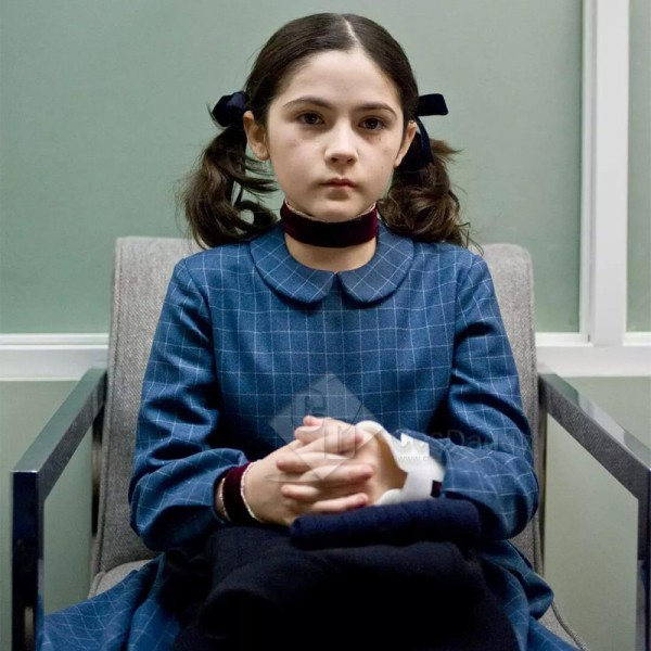 Orphan Esther Cosplay Costume Neck And Wrist Ribbo...