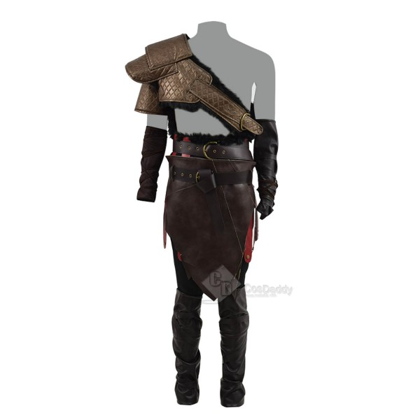 God of War 4 Kratos Cosplay Costume For Halloween Guide