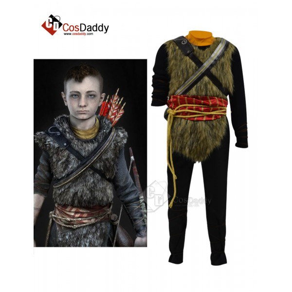 God of War 4 Atreus Cosplay Halloween Costume Guid...