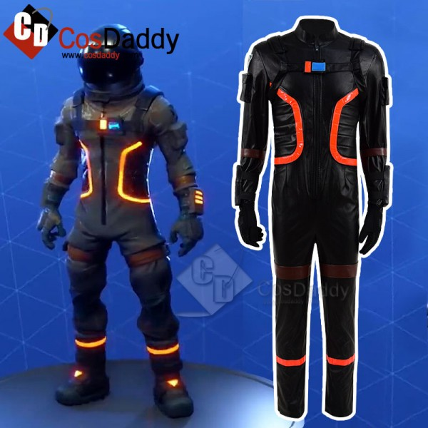 Fortnite Dark Traveler Cosplay Costume